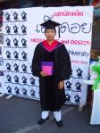 卒業写真。