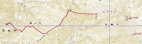 7月26日GPS地図