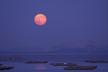 赤い満月1