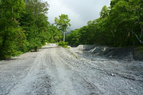 工事車両用道路