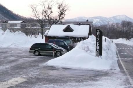 奥大山スキー場駐車場