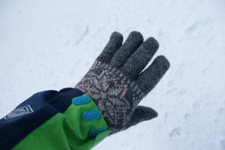 ウール厚手手袋