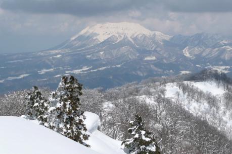 大山の眺望