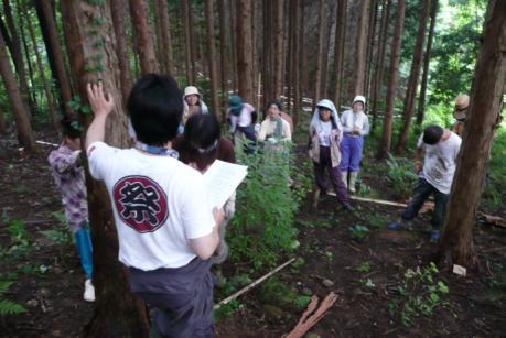 2011年6月26日きらめ樹間伐in岡山久米南町004