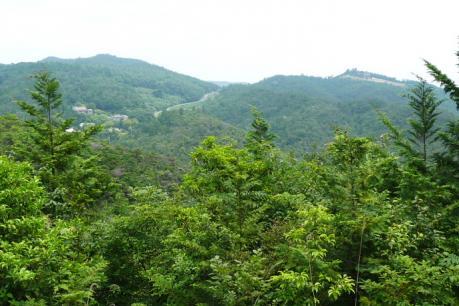 経山山頂からの展望