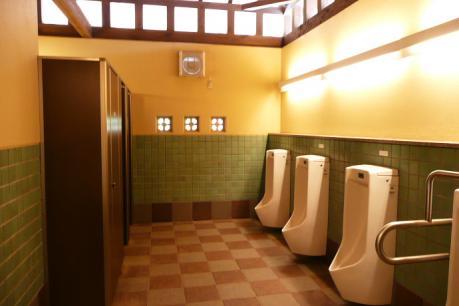 ビジターセンターのトイレ
