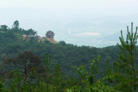 犬墓山山頂からの眺め