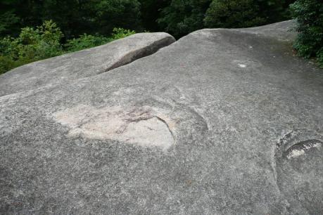 鬼の餅つき岩