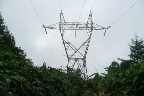 送電線鉄塔