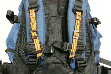 登山用TKストラップ取付例1