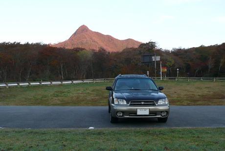 朝の烏ヶ山