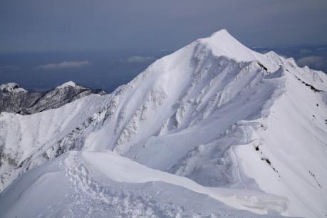 厳冬期の伯耆大山山頂