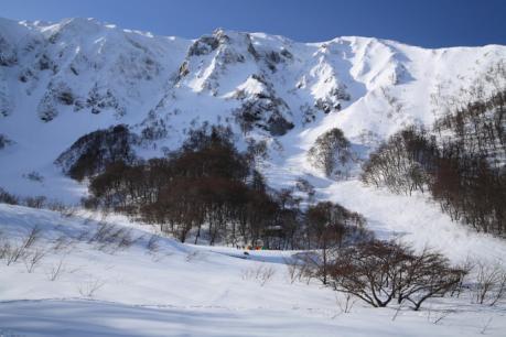 冬の伯耆大山元谷