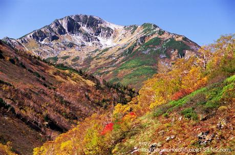 秋の黒部五郎岳