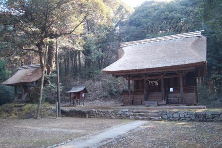 1綱神社と大倉神社