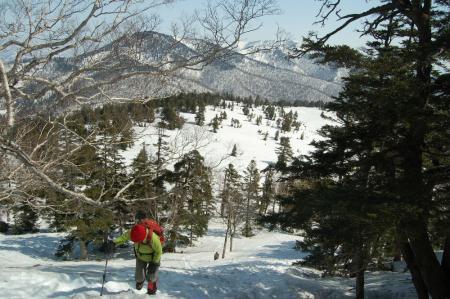 8熊沢田代への登り