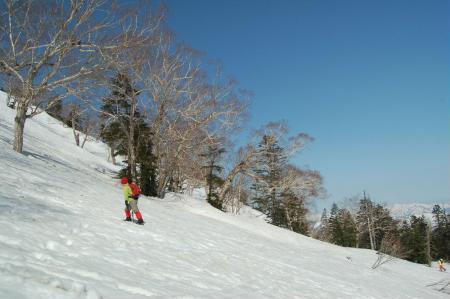 10熊沢田代への登り