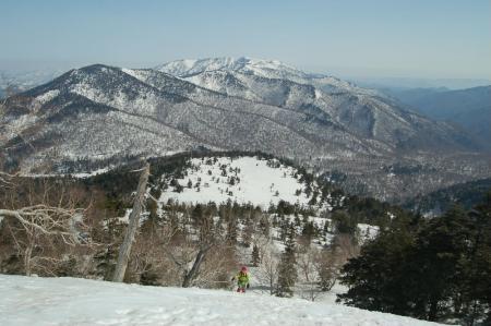11熊沢田代への登り
