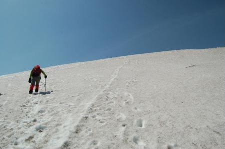 16-1熊沢田代から燧ヶ岳への登り
