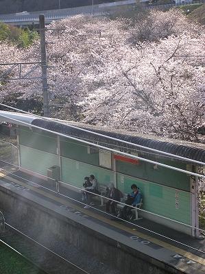 鉄道旅行2011年4月7日 京橋→長居→南田辺→向日町→島本→塚本→山中渓→りんくうタウン→京橋 123