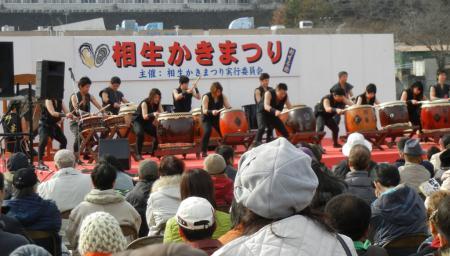 2011焼き牡蠣会場1