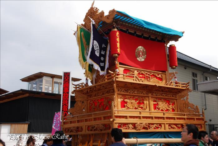西条祭り 2009 伊曽乃神社祭礼関係 JR伊予西条駅前付近での下町中だんじり(屋台) 2009年10月15日