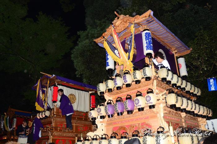 西条祭り 栄町中組だんじり(榮町中組屋台・楽車) 伊曽乃神社祭礼 宮出し