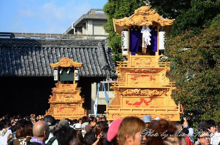 西条祭り2011 御殿前 都町だんじり(屋台・楽車) 伊曽乃神社祭礼 2011年10月16日