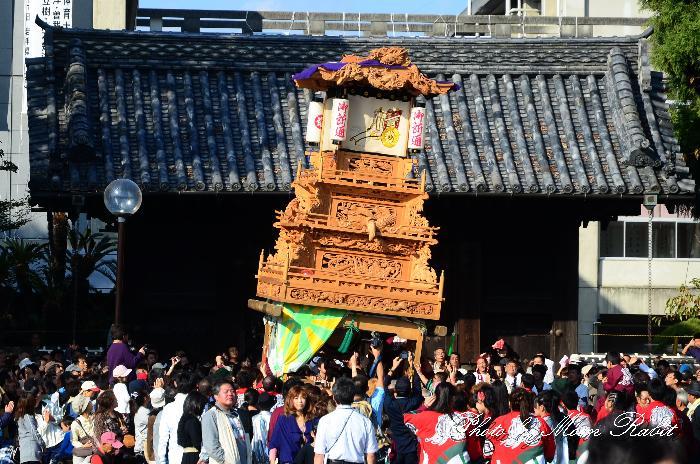西条祭り2011 御殿前 御所通りだんじり(屋台・楽車) 伊曽乃神社祭礼 2011年10月16日