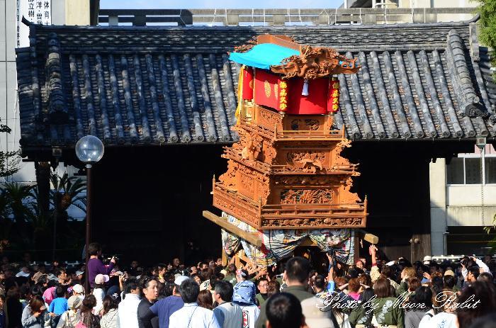 西条祭り2011 御殿前 若草町だんじり(屋台・楽車) 伊曽乃神社祭礼 2011年10月16日