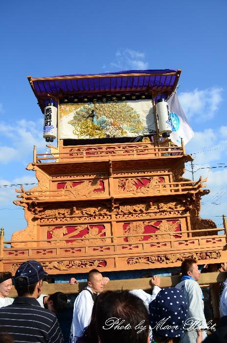 西条祭り2011 御殿前 花園町だんじり(屋台・楽車) 伊曽乃神社祭礼 2011年10月16日