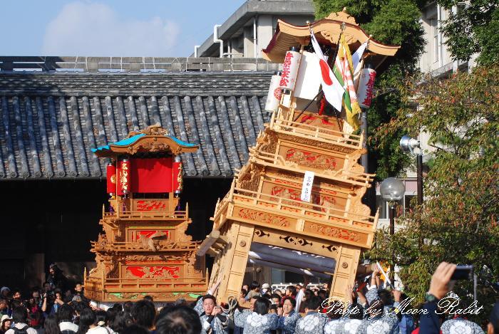 西条祭り2011 御殿前 吉原三本松だんじり(屋台・楽車) 伊曽乃神社祭礼 2011年10月16日