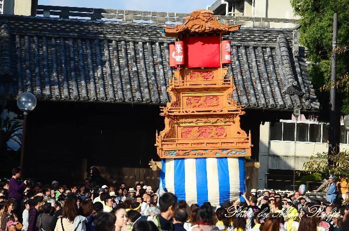西条祭り2011 御殿前 栄町上組だんじり(榮町上組屋台・楽車) 伊曽乃神社祭礼 2011年10月16日
