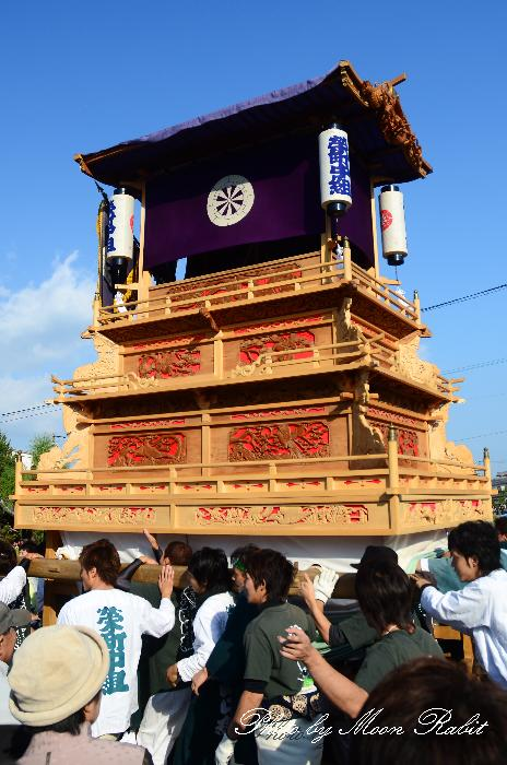 西条祭り2011 御殿前 栄町中組だんじり(榮町中組屋台・楽車) 伊曽乃神社祭礼 2011年10月16日