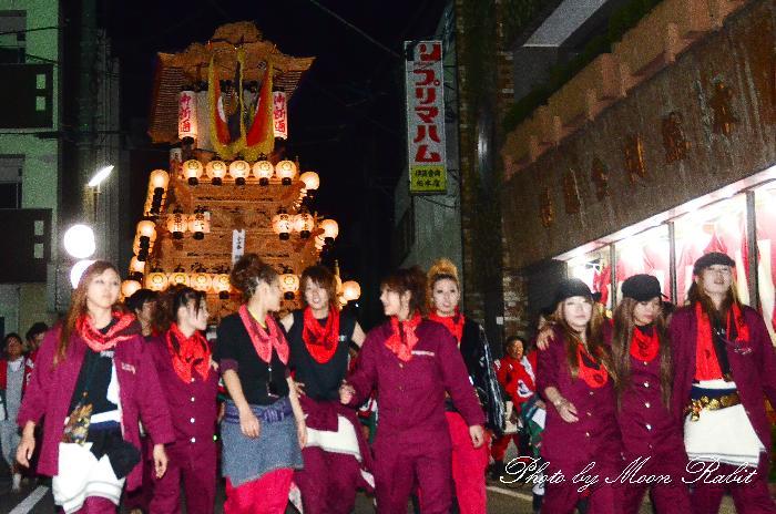 御所通りだんじり(屋台・楽車) 西条祭り2011 愛媛県西条市北の丁下