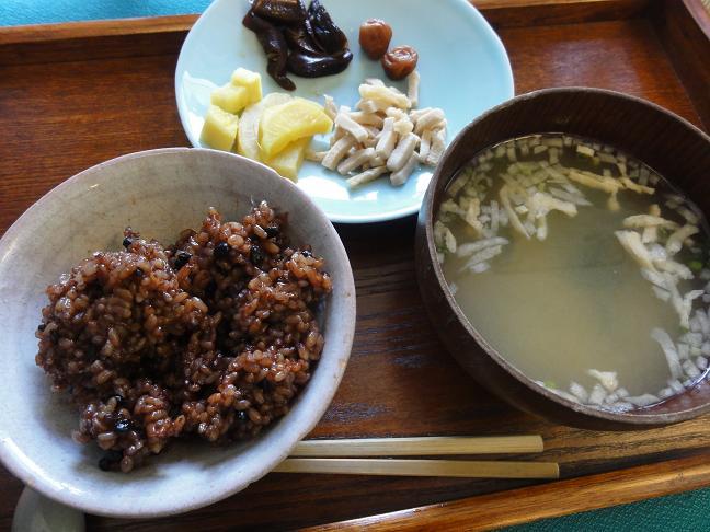玄米昼食3