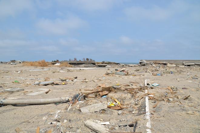 津波と堤防