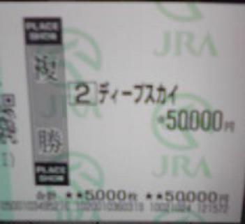 2008 天皇賞秋 Dスカイ