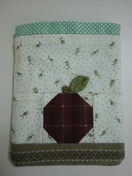りんごのミニ巾着1