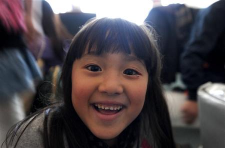 仙台空港の女の子