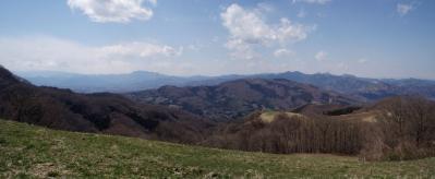 粥仁田峠より美の山