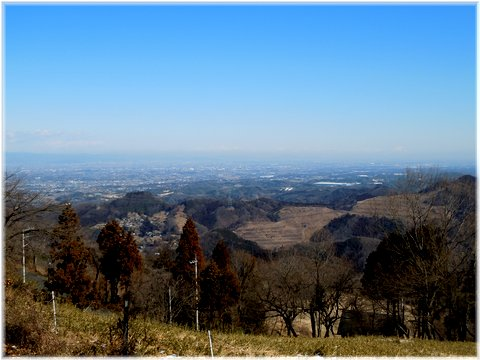 熊谷、栃木方面の景色mpすばらしい!