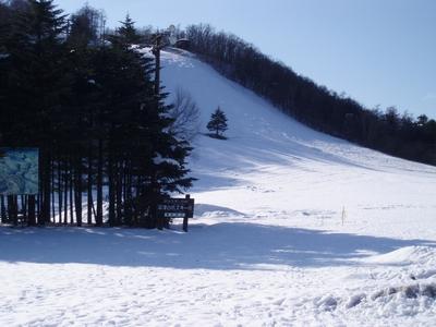 4月中旬でスキーできますよ?@草津国際