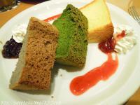 シフォンケーキ。