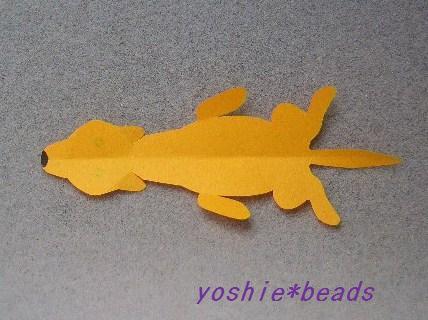 子犬の切り折り紙