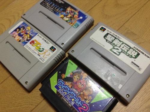 レトロゲーム収穫2013・09・30