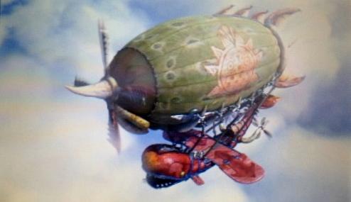 モンハン4エンディング飛行船