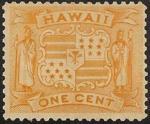 ハワイ・紋章1セント