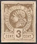 ハイチ最初の切手