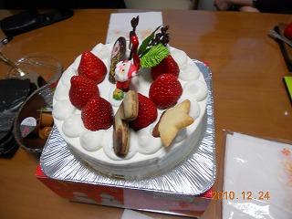 皆でケーキ